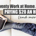 jobs pay 20$